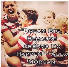 I love Alex Morgan
