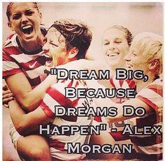 I love Alex Morgan