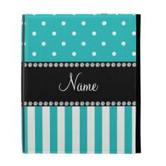 Personalized name turquoise stripes polka dots iPad case We provide you all shopping site and all informations in our go to store link. You will see low prices onHow to          	Personalized name turquoise stripes polka dots iPad case Here a great deal...