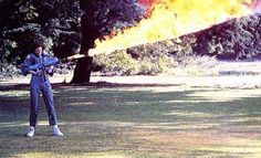 Image of the Day: Sigourney Weaver test-fires Alien's flamethrower | Blastr