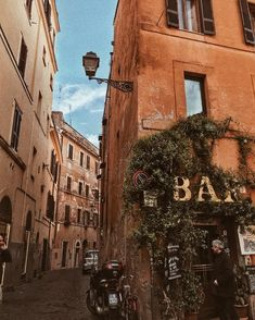 Rome kind of corners . Rome kind of corners . City Aesthetic, Travel Aesthetic, Summer Aesthetic, Places To Travel, Travel Destinations, Travel Europe, The Places Youll Go, Places To Visit, France 3