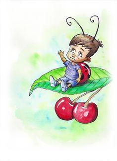 Ilustración para libro de cuentos