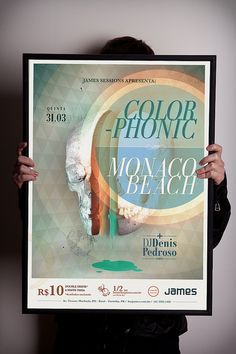 Poster Colorphonic + Monaco Beach. by luciano_costa, via Flickr