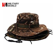 31ca5a6ce71 Aliexpress.com   Buy Man Military Camouflage Boonie Bucket Cap Sunproof  Outdoor Hunting Caps Headwear Men Sport Camping Fishing Hat For Airsoft    from ...