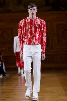 Songzio Spring Summer Menswear 2014 Paris