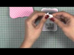 How-to video: Youre so sweet