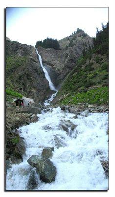 Waterfall In Swat Valley - Swat, Northern Areas - Pakistan