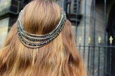 How to make a #DIY hair chain