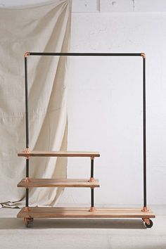 locust industrial storage rack urban outfitters