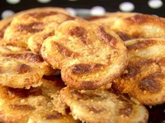 Get Savory Cheese Palmiers Recipe from Food Network