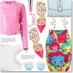 How To Wear Colorful & outrageous Outfit Idea 2017 - Fashion Trends Ready To Wear For Plus Size, Curvy Women Over 20, 30, 40, 50