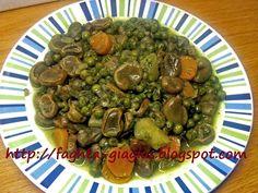 Κουκιά με αρακά - από «Τα φαγητά της γιαγιάς» Sprouts, Sweet Home, Beans, Vegetables, Recipes, Food, House Beautiful, Recipies, Essen