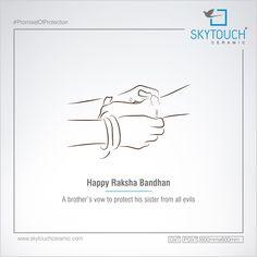 A brother's vow to his sister from all evils. Independence Day Poster, Indian Independence Day, Raksha Bandhan Quotes, Rakhi Cards, Rakhi Festival, Happy Rakhi, Sanskrit Quotes, Rath Yatra, Happy Rakshabandhan