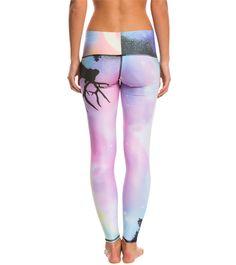 Teeki Northern Lights Hot Pant Yoga Leggings at YogaOutlet.com - Free Shipping