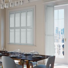 These San Jose Premium Duck Egg shutter blinds ooze class and calm, thanks to the absolutely stunning shade. Our design team has certainly done a good job creating this one.