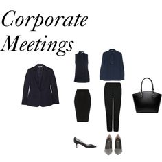 Corporate meetings by styleright on Polyvore featuring W118 by Walter Baker, STELLA McCARTNEY, Jaeger, Fendi, Casadei and MICHAEL Michael Kors