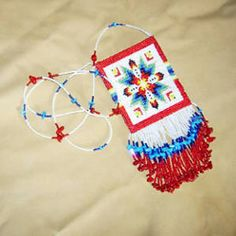 Bead Patterns Boutique - Sioux Star Amulet Bag