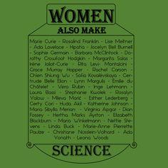 Women also make science (black) - NeatoShop