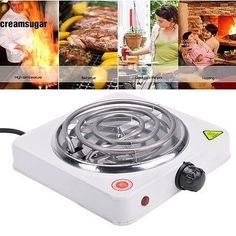 New Portable Electric Stove Burner Hot Plate Heater 110V 1000W US PLUG CESU02