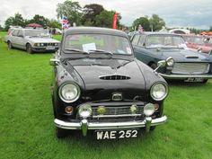 Austin A50 Cambridge 1955 at Sherborne Castle classic car show