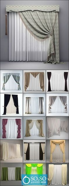 Ulinkly is for affordable custom-made luxurious window curtains. Modern Curtains, Hanging Curtains, Drapes Curtains, Decoration Hall, Living Room Decor, Bedroom Decor, House Blinds, Curtain Designs, Home And Deco