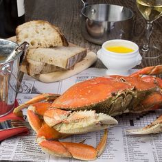 Dungeness Crab Season :: Search by flavors, find similar varieties and discover new uses for ingredients @ preppings.com