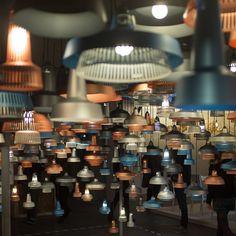 Pendant lights by Inter National at Designjunction 2013, London Design Festival