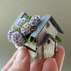 dolls birdhouse