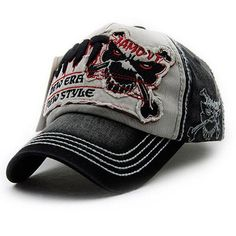 Baseball caps drake hat outdoor sports summer sunhat skulls embroidery  cotton cricket cap polo male gorra snapback for men women 9d9a22fb480