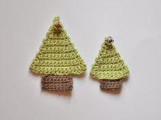 Chrissie Crafts: Crochet-A-Long: A Little Christmas Tree Pattern