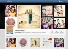 Did you know we're now on Instagram as well as Pinterest and Twitter too? Come and follow us on our new Instagram page here www.instagram.com/collinresultime