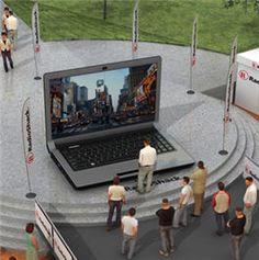 Giant laptop