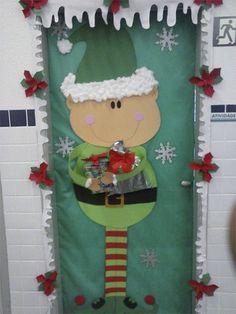 Pedagogia Brasil: Dicas de decoração das portas da sala para o natal