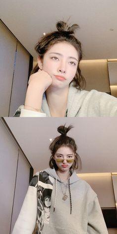 My Girl, Cool Girl, Shot Hair Styles, Ulzzang Korean Girl, Korean Street Fashion, Kpop Fashion Outfits, Aesthetic Girl, Girl Pictures, Retro Fashion