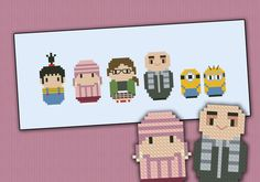 Despicable Me - Cross Stitch Patterns - Products