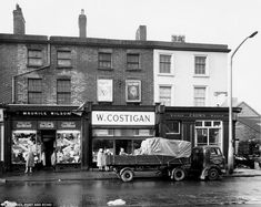 Archive shots of Liverpool's Scotland Road as it was when Cilla Black was growing up | Daily Mail Online