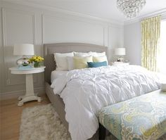 perfect use of our color combo, more neutrals with pops of color