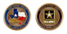 """Ft Hood """"The Great Place"""" Coin - Item CC-1230"""