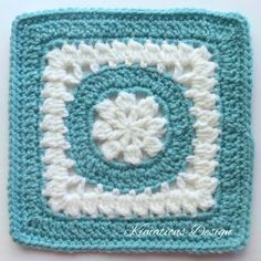 I love this square! It's been one of my favorites to crochet. When crocheted in white and another color the center of this square reminds me very much of a snow flake. Please add to your Rave…