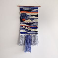 Woven Wall Hanging Weaving - wall art