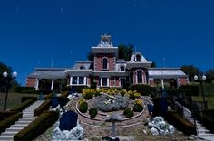 Train Station at the Neverland Ranch.