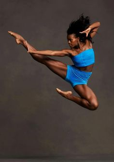 Alvin Ailey dance to have legs like that phew!