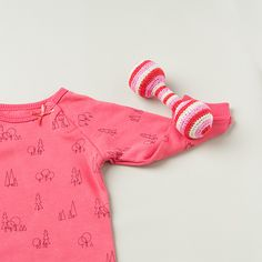 baby-rattle-pink03 Baby Rattle, Rompers, Dresses, Style, Fashion, Vestidos, Moda, Stylus, Romper Suit