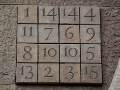 Los cuadrados mágicos I | matematicascercanas