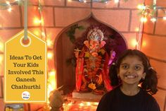 Ganesh Chaturthi is one of the most celebrated festivals in Maharashtra. Involving the young ones in the festival will make them understand it better. Clay Ganesha, Modeling Classes, Lemon Rice, Indian Festivals, Little Books, Clay Art, Fairy Lights, Make It Simple, Easy Crafts