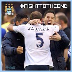 Fight to the end! #mcfc #manchester #city