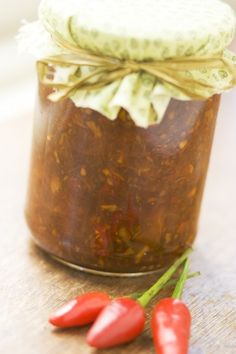Tomato and Lemongrass Sambal.. USED TO LOVE THIS SO MUCH...MAYBE i SHALL GET BACK TO IT NOW.