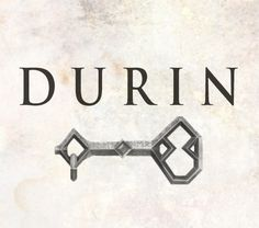 """...That the line of Durin would not be so easily broken."""