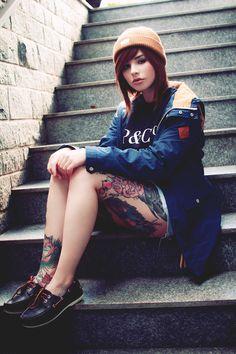 #rad #style #fashion #tattoos