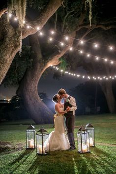 night time wedding photo ideas via Studio 1250 / http://www.himisspuff.com/100-unique-and-romantic-lantern-wedding-ideas/6/